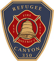 Refugee-Canyon Joint Fire District Logo