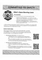 Ohio's Open Burning Laws
